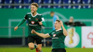 Schweinfurt spielt um den Aufstieg in die 3. Liga