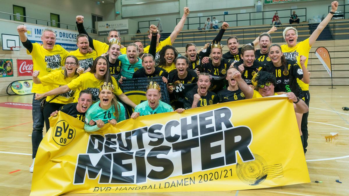Die Dortmunder Handball-Frauen sind am Ziel