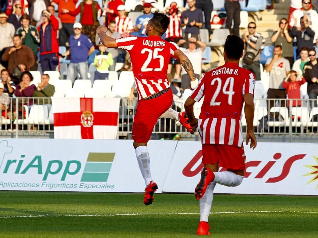 El Almería estuvo a punto de ganar en Mendizorroza. (Foto: Imago)