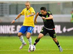 Diego Tardelli traf gegen Mexiko für die Selecao