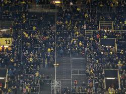 """Die """"Gelbe Wand"""" offenbarte am Montag große Lücken"""