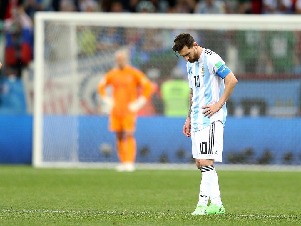 Lionel Messi und Co. haben eine heftige Pleite kassiert