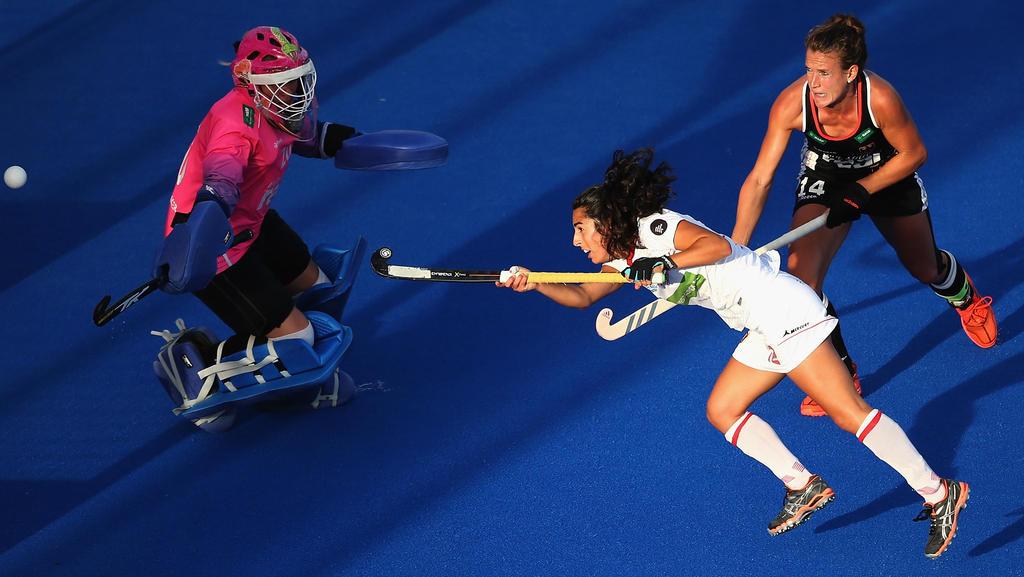 Die DHB-Damen mussten sich Spanien geschlagen geben
