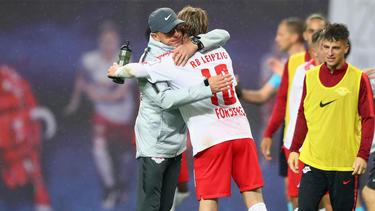 Trainer Ralf Rangnick träumt vom Europa-League-Sieg