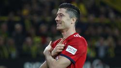 19 Tore hat Robert Lewandowski in dieser Spielzeit für den FC Bayern erzielt