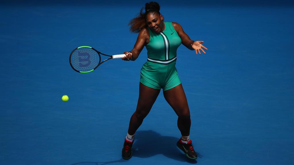 Serena Williams mag es schrill