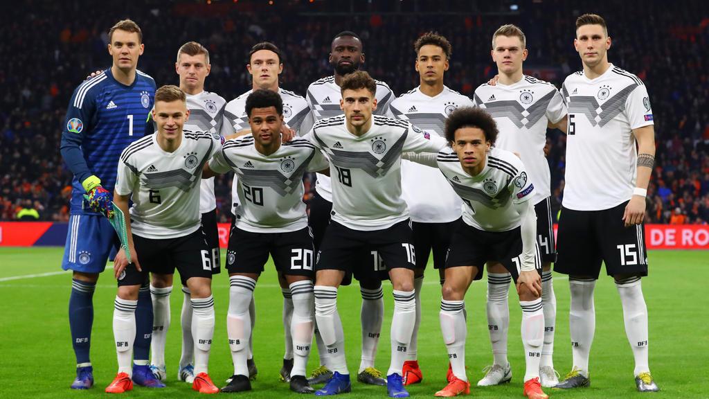 Once de Alemania en el último partido ante Holanda. (Foto: Getty)