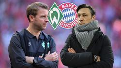 Florian Kohfeldt und Niko Kovac kämpfen um den Einzug ins Pokalfinale