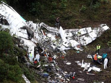 Imagen de los restos del avión accidentado. (Foto: Imago)