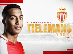 Youri Tielemans wechselt zur AS Monaco (Quelle: Facebook/asmonaco)