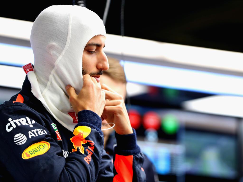 Daniel Ricciardo setzt sein Formel-1-Team Red Bull unter Druck