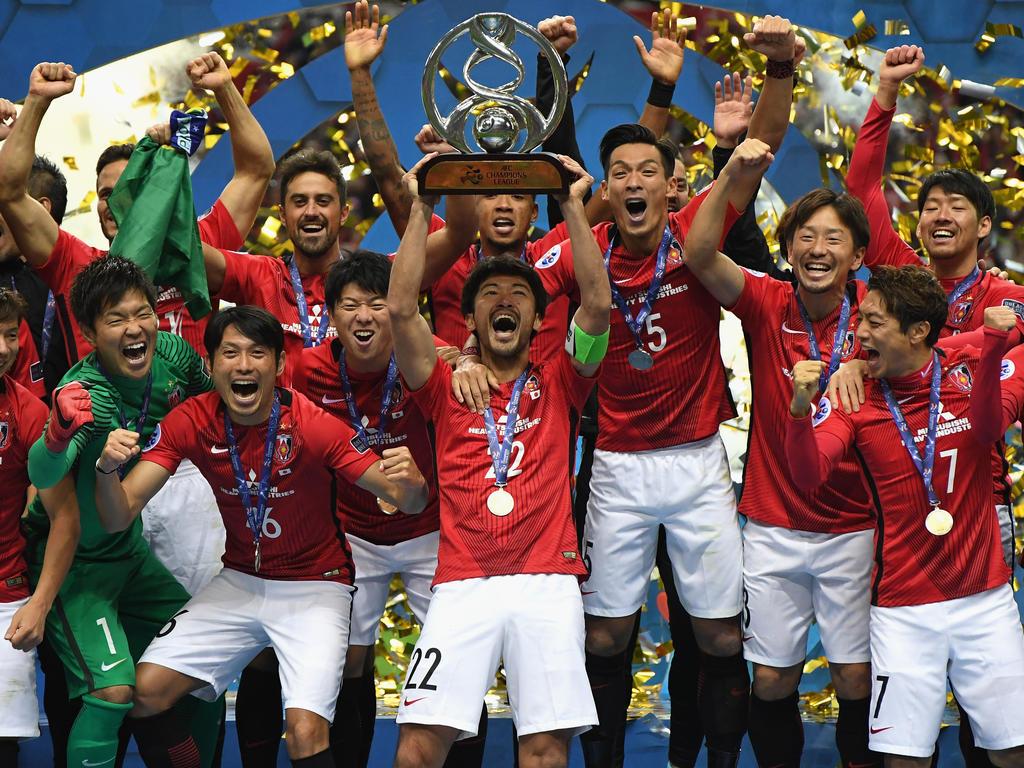 El equipo nipón llega a Emiratos tras lograr su segundo título de la Champions asiática. (Foto: Getty)