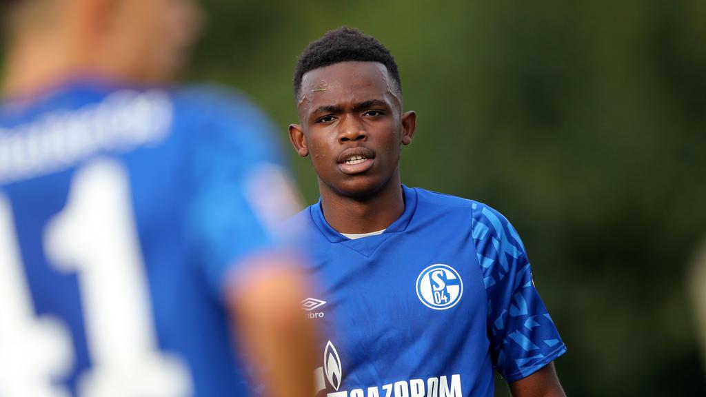 Schalke-Youngster Rabbi Matondo holte sich Tipps von BVB-Star Jadon Sancho