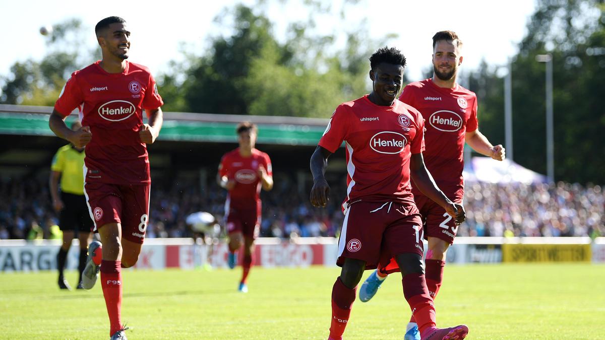 Ofori (M.) erzielte für die Fortuna zwei Tore