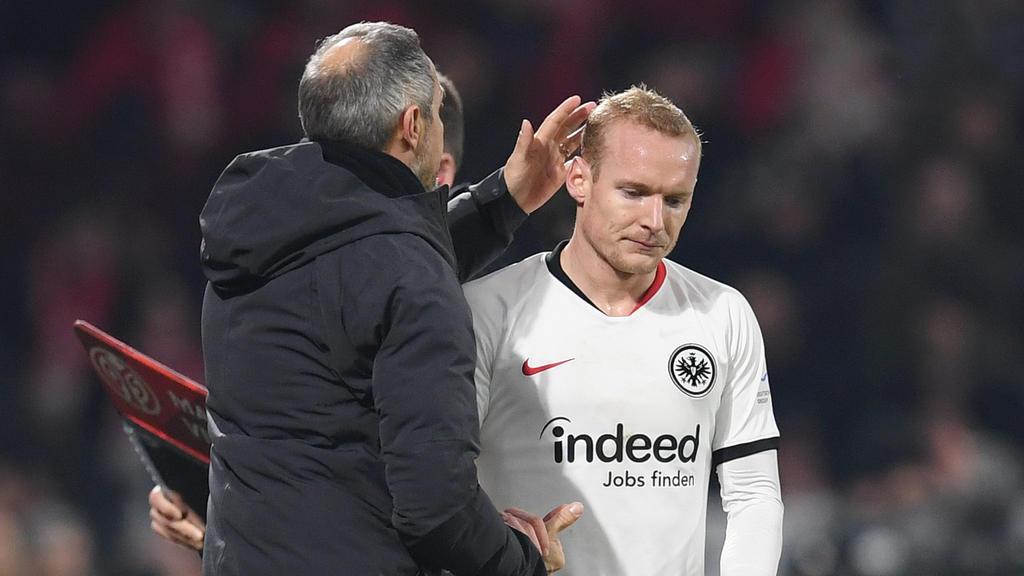 Sebastian Rode konnte die Fans von Eintracht Frankfurt nicht beruhigen