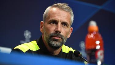 BVB-Trainer Marco Rose erwartet einen unangenehmen Empfang in Gladbach