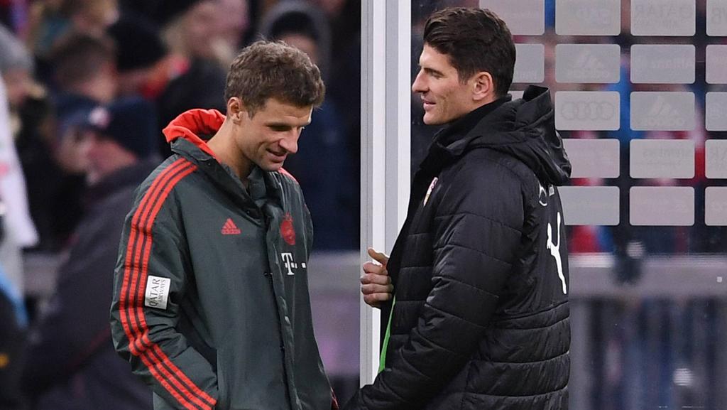 Thomas Müller und Mario Gomez spielten jahrelang beim FC Bayern und im DFB-Team zusammen