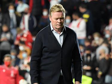 Nichts zu lachen hat derzeit Barcelona-Trainer Koeman