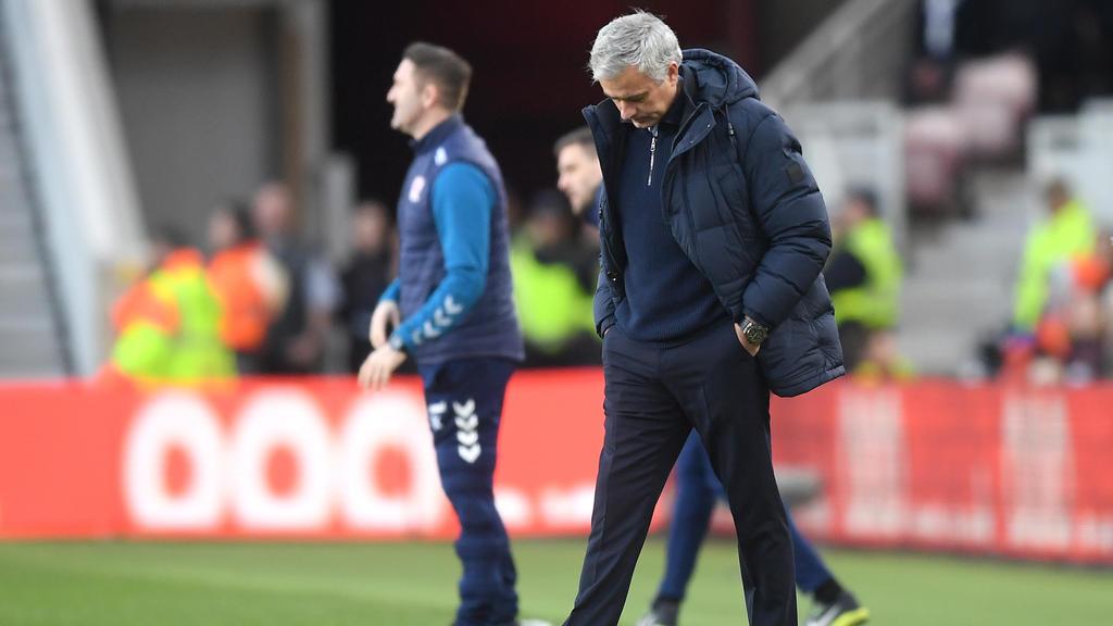 José Mourinho hatte bei Tottenham keinen leichten Start