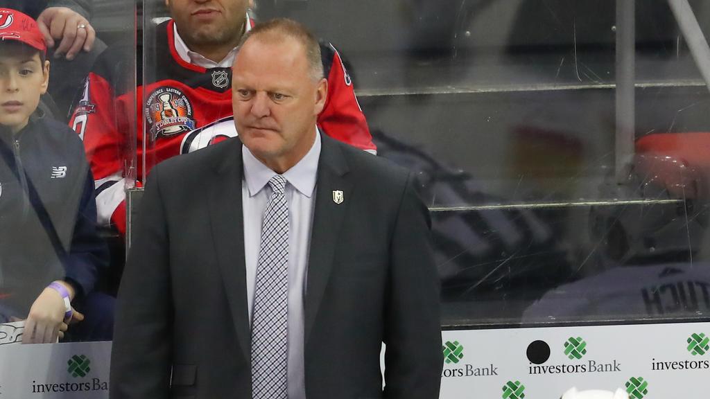 Die Vegas Golden Knights haben ihren Trainer entlassen