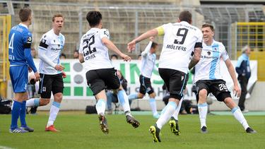 1860 München verpasste gegen Magdeburg einen Heimerfolg