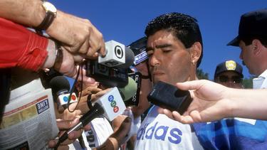 Vom Helden zur Skandal-Nudel: Diego Armando Maradona