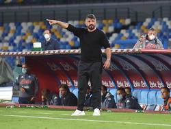 Napoli-Coach Gennaro Gattuso trifft auf einen guten Bekannten