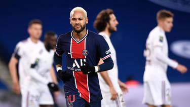 Auch ein Treffer von Neymar genügte nicht zum Sieg für PSG
