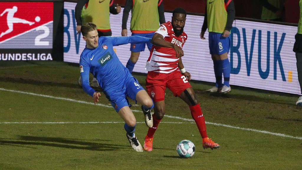 Der 1. FC Heidenheim siegte in Würzburg