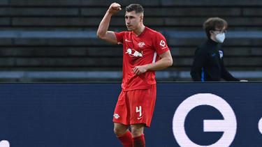 Hat mit RB Leipzig in der Bundesliga Gladbach vor der Brust:Willi Orban