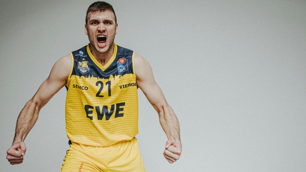 Tomislav Gabric wechselt zu den EWE Baskets Oldenburg