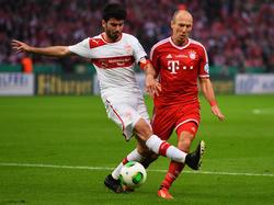 Beim DFB-Pokalfinale 2013 spielte Serdar Taşçı mit dem VfB Stuttgart noch gegen die Bayern