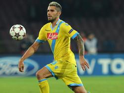 Valon Behrami, centrocampista del Napoli