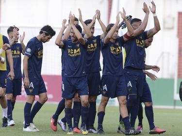 El UCAM ganó al Castilla en la ida del Play Off. (Foto: Imago)