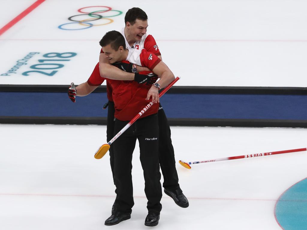 Die Curler der Schweiz haben Bronze gewonnen