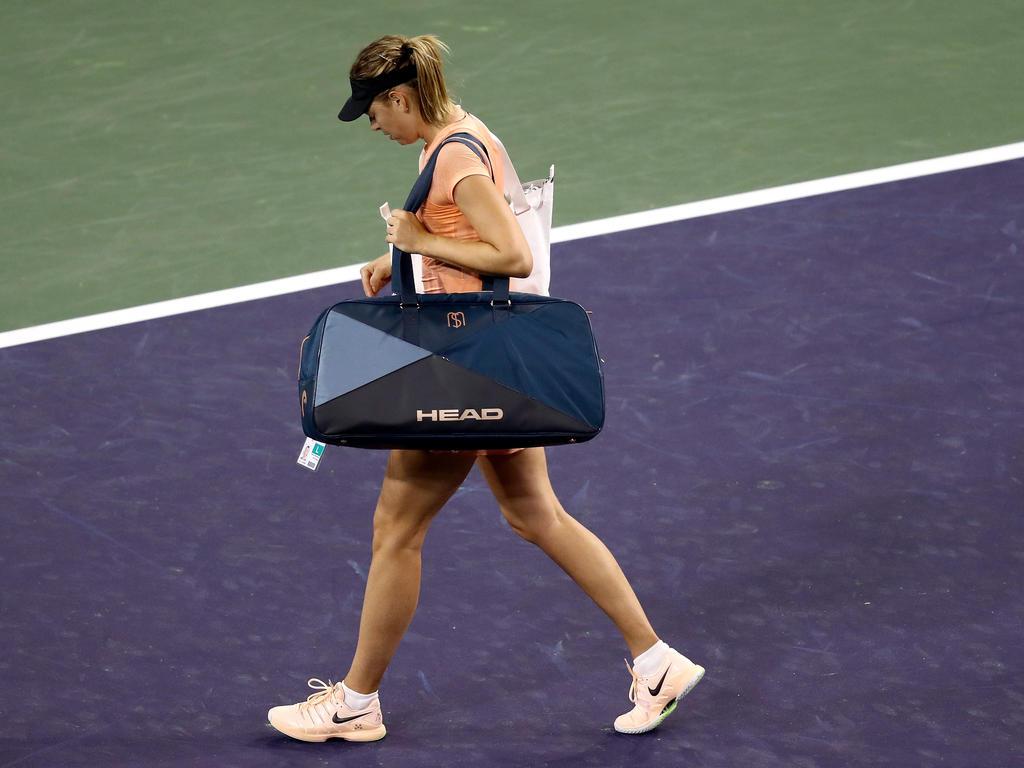 Muss beim WTA-Turnier in Miami passen: Maria Scharapowa