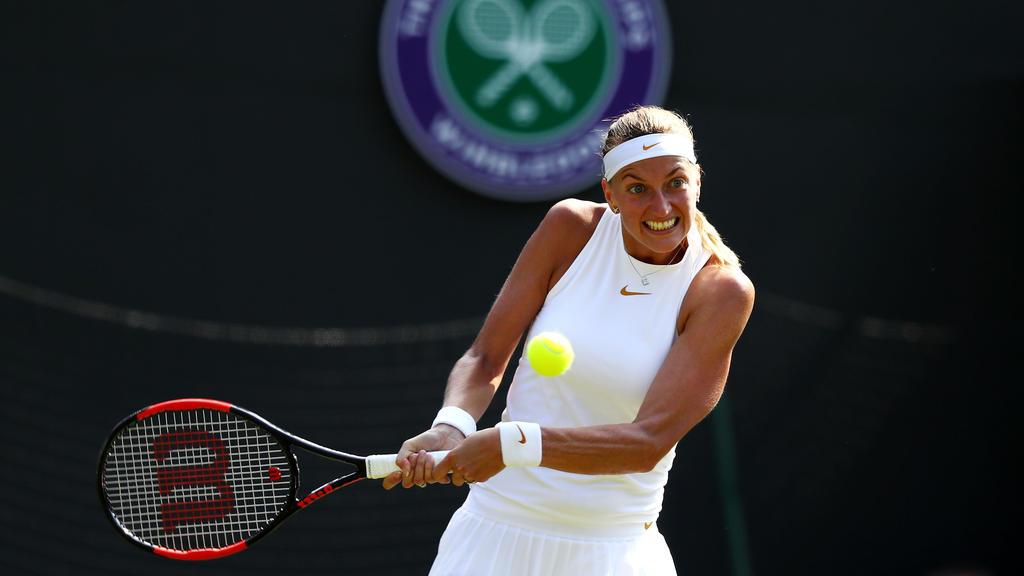 Petra Kvitova konnte in Wimbledon nicht überzeugen