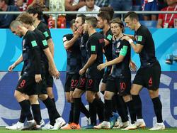 Drei Spiele, drei Siege - Kroatien schlägt auch Island