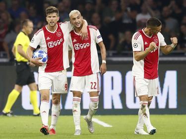 El Ajax demostró su superioridad contra el Dinamo de Kiev. (Foto: Getty)