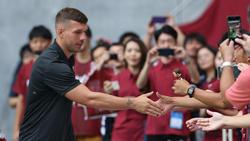Lukas Podolski hat in der J-League seit sieben Spielen mit Vissel Kobe nicht mehr gewonnen