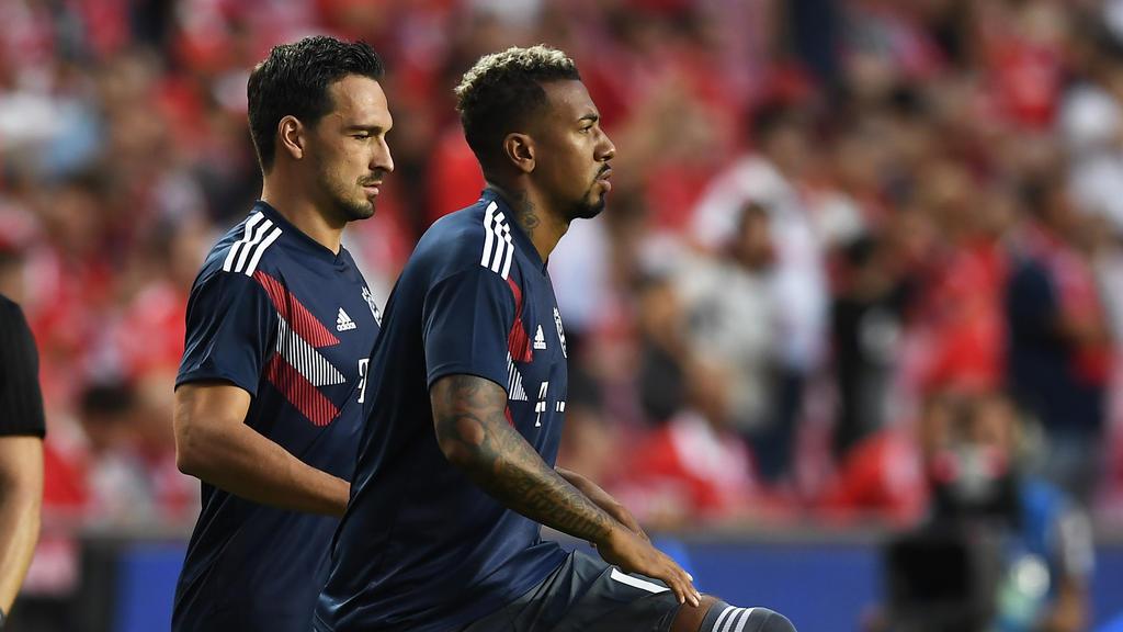 Jérôme Boateng und Mats Hummels stehen vor einem richtungsweisenden Halbjahr