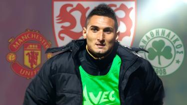 Federico Macheda war zeitweise von Manchester United an den VfB Stuttgart verliehen