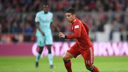 James Rodríguez ist noch (mindestens) bis Mitte Juni Spieler des FC Bayern
