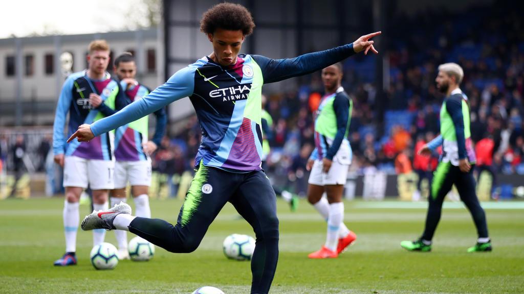 Leroy Sané ist bei Manchester City angeblich unzufrieden