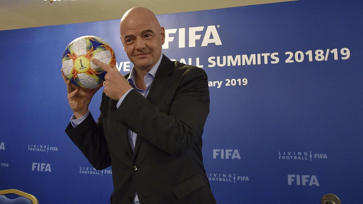 Der Schweizer Gianni Infantino ist seit Februar 2016 Chef des Fußball-Weltverbandes