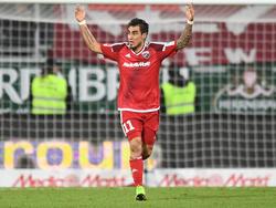 Will den FCI zum Klassenerhalt schießen: Darío Lezcano