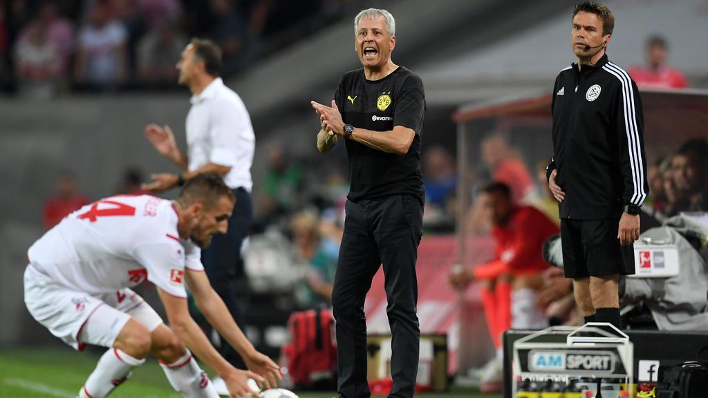 Verliert Lucien Favre beim BVB die Rückendeckung?