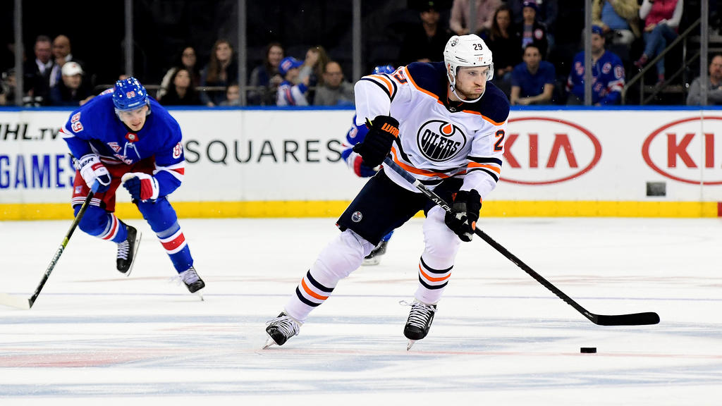 Leon Draisaitl zeigte im Trikot der Oilers erneut eine starke Leistung