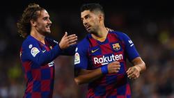 Luis Suárez und Antoine Griezmann freuen sich auf das Duell mit dem BVB