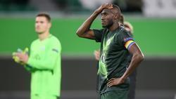 Der VfL Wolfsburg um Kapitän Joshua Guilavogui war alles andere als zufrieden